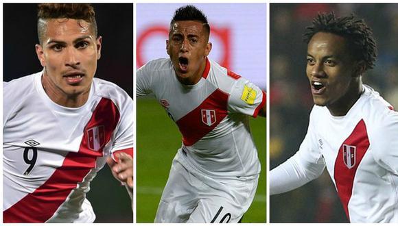 Carrillo, Guerrero y Cueva serán titulares este jueves ante Uruguay.
