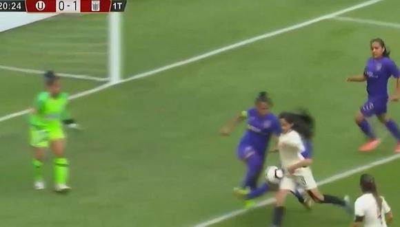 Alianza - Universitario EN VIVO | Hermanas gemelas protagonizan penal a favor y gol para la U [VIDEO]