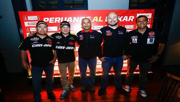Se realizó presentación de pilotos peruanos que competirán en el Dakar 2019