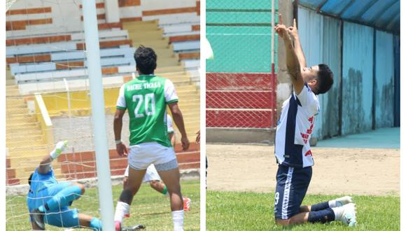 El 'Bebé' Rubén Valladares se lució con un golazo olímpico. (Fotos: Twitter @CopaPerúFPF