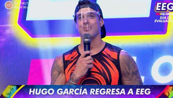 "Hugo García volvió a ""Esto es guerra"" tras dos meses de ausencia. (Foto: Captura América TV)."