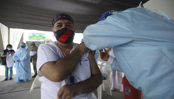 El número de personas vacunadas aumentó este miércoles. (Foto: GEC)