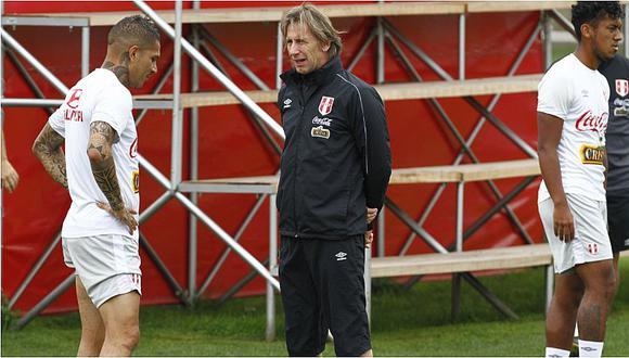 Ricardo Gareca dejaría fuera de la Copa América a Paolo Guerrero