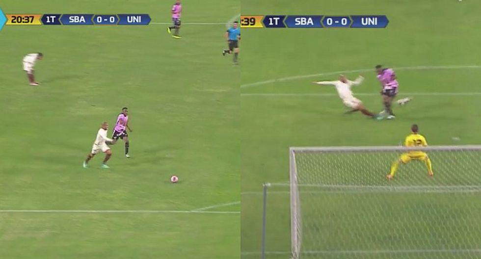 Rodríguez salva a Universitario tras error garrafal ante Tejada [VIDEO]