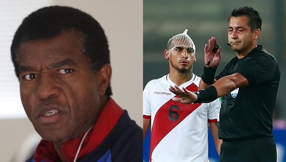 Julio César Uribe habló sobre la actuación de Julio Bascuñán en el duelo entre Perú y Brasil. Además, se refirió a lo que será el duelo entre Perú y Chile del próximo 12 de noviembre en Santiago | Foto: Composición