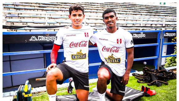 Oslimg Mora y Jhilmar Lora: uno de ellos arrancaría ante Argentina.