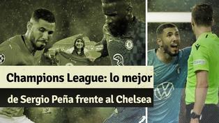 Champions League: revive el desempeño de Sergio Peña en contra el Chelsea