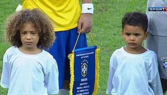 David Luiz y Thiago Silva: sus mini 'clones' estuvieron ante México [VIDEO]