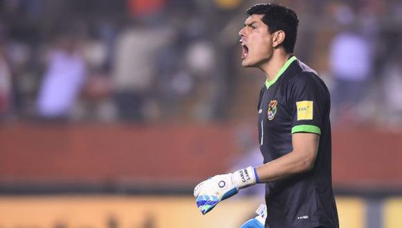 Carlos Lampe es habitual convocado a la Selección de Bolivia. (Fuente: AFP)