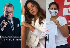 Efraín Aguilar, Vanessa Terkes y los famosos que postularon al Congreso