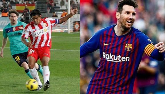 Lionel Messi y el noble gesto con el equipo de Santiago Acasiete