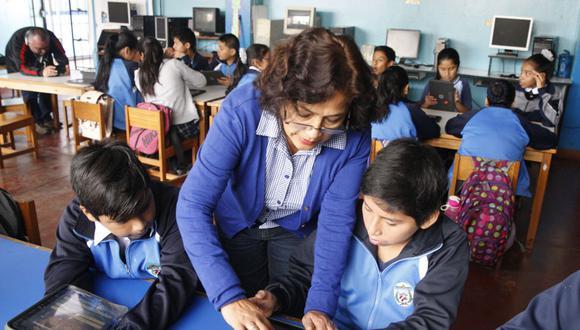 Minedu publicó cronograma para el proceso de contratación de auxiliares educativos. (Foto: Andina)