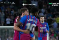 Barcelona vs. Valencia: Ansu Fati se lució con golazo para el 1-1   VIDEO