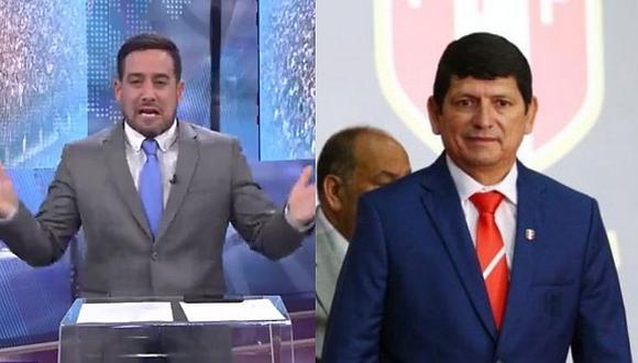 Óscar del Portal destrozó a presidente de la FPF tras eliminación de la Sub-17