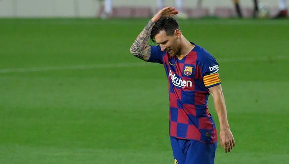 Con Messi, Barcelona sufrió ante Bayern su peor derrota histórica por Champions. (Foto: AFP)