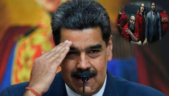 Nicolás Maduro recomienda La Casa de Papel