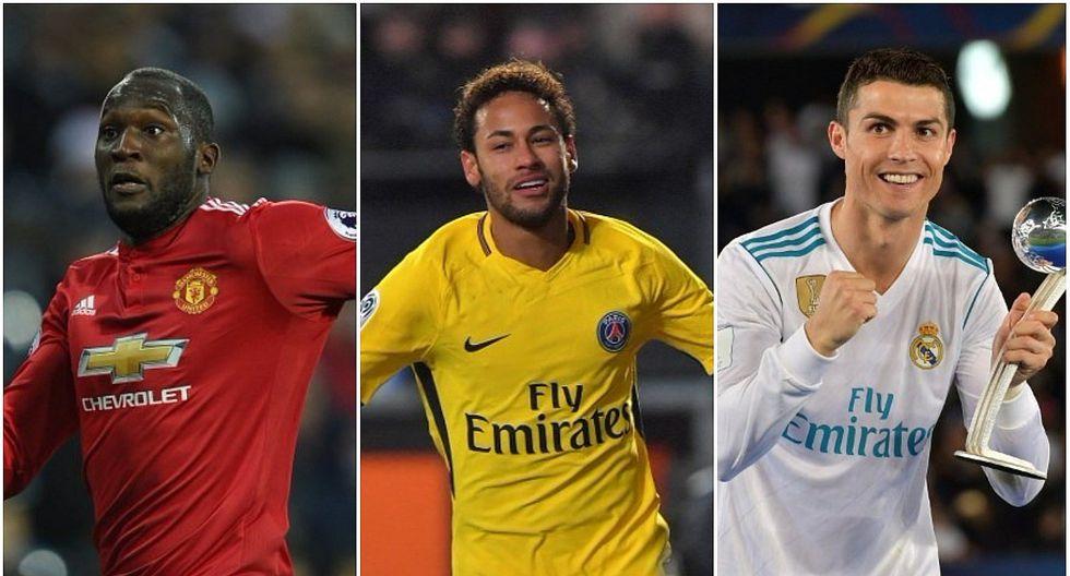 Las 10 transferencias más costosas de la historia del fútbol [FOTOS]