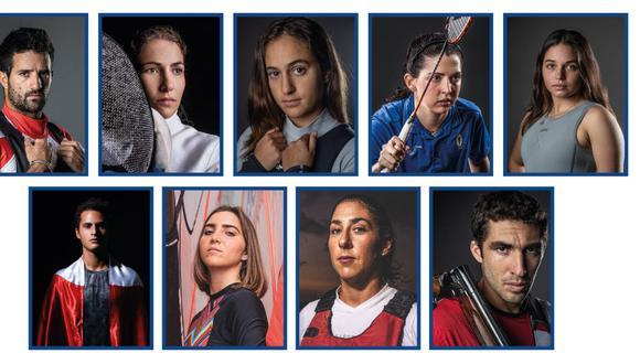 Stefano Peschiera, Paloma Schmidt, María Pía Van Oordt, Diana Tudela, María Belén Bazo, Daniela Macías, María Luisa Doig, Nicolás Pacheco y Juan Pablo Varillas.