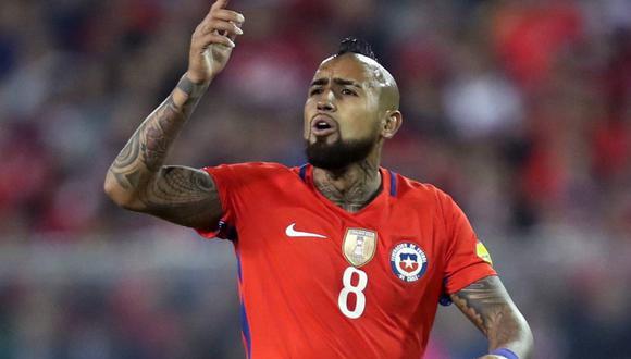 Arturo Vidal afirma que jugará con Chile a pesar del Comunicado de la Serie A. (Foto: EFE)