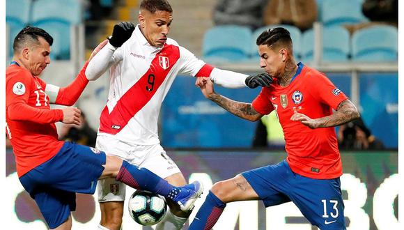 Perú y Chile se juegan muchas de sus chances de llegar al Mundial en el próximo partido de octubre. (Foto: GEC)