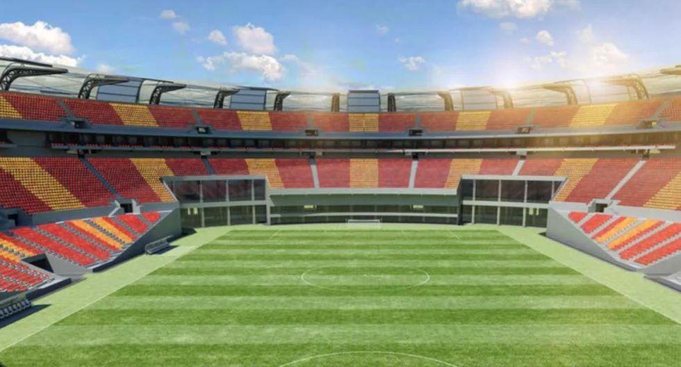 El Estadio Único pertenece a la Provincia de Santiago del Estero y se encuentra en construcción para este torneo. (FOTO: Agencias)