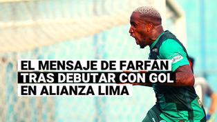 El mensaje de Jefferson Farfán tras anotar en su nueva etapa en Alianza Lima