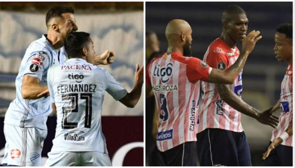 Bolívar vs. Junior: chocan por la Fase 3 de la Copa Libertadores 2021. (Foto: AFP)