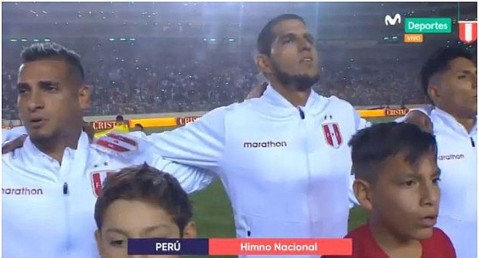 Perú vs. Costa Rica | Así se escuchó el himno nacional en el estadio Monumental | VIDEO