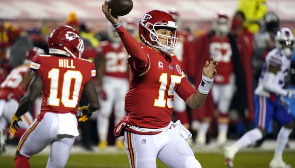 Dos jugadores de los Chiefs en la lista de covid-19 antes del Super Bowl. (Foto: AFP)