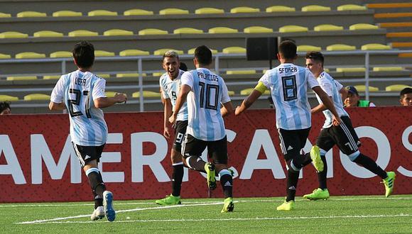 Argentina a un paso de la clasificación al Mundial Sub 17 de Brasil