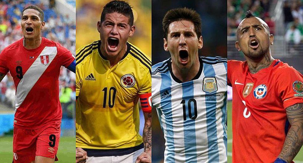 Copa América 2019: así llega Paolo Guerrero y los 6 cracks sudamericanos al torneo en Brasil