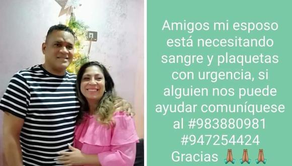 Hijo de José Velasquez se encuentra mal de salud y esposa pide ayuda en redes [FOTO] Foto: Instagram