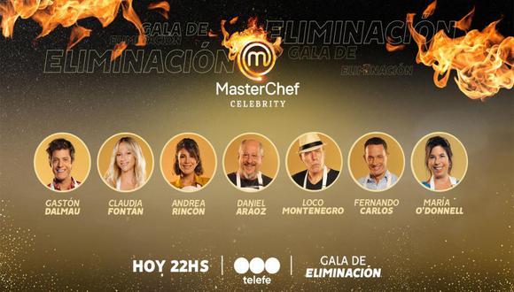 Noche de eliminación en MasterChef Argentina (Foto: Telefe)