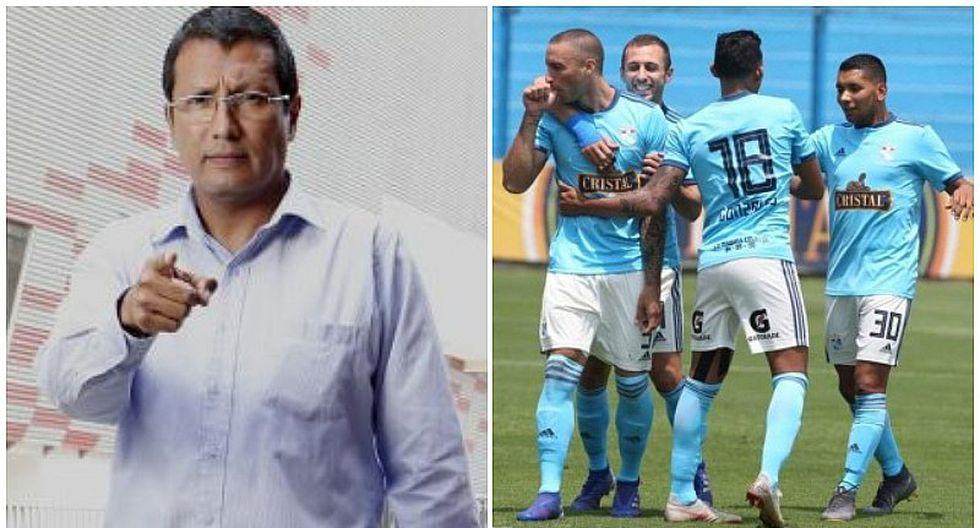 "'Tigrillo' Navarro: ""Sporting Cristal es una mazamorra a nivel internacional"""