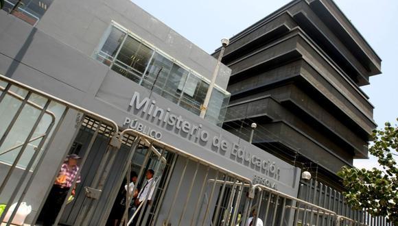 Los productos estaban destinados al personal nombrado, destacado y contratado de la sede central del Minedu, en San Borja. (GEC)