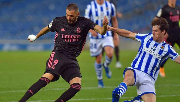 Real Madrid vs. Real Betis se medirán en la tercera jornada de la Liga Santander. (Foto: AFP)