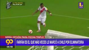 Selección peruana: Jefferson Farfán y su posible convocatoria para la fecha triple