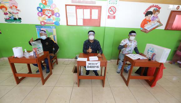 Debido a la pandemia del COVID 19, la ONPE ha publicado una lista de horarios para ir a votar en las Elecciones Generales 2021 el próximo 11 de abril. (Foto: ONPE)