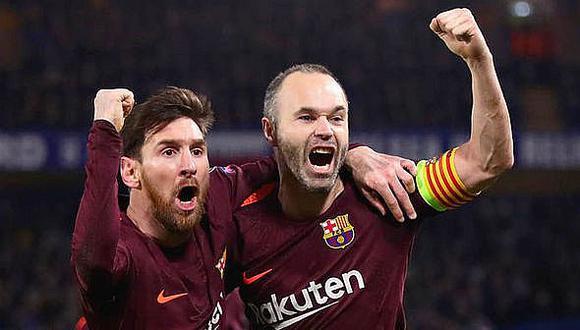 """Andrés Iniesta: """"Leo Messi es lo más grande que he visto en el fútbol"""""""