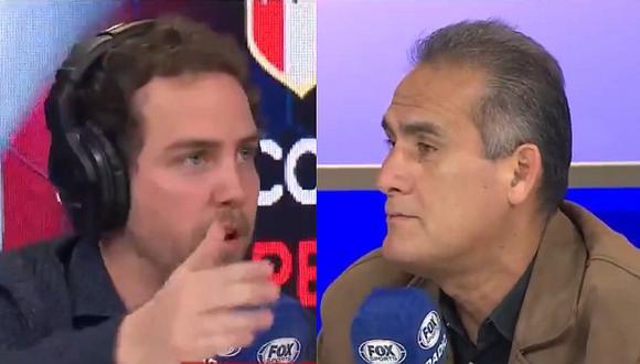 Teddy Cardama tilda de 'loco' a periodista de Fox Sports en fuerte discusión sobre Gabriel Costa   VIDEO