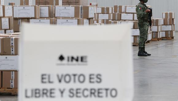 Este domingo 6 de junio, se celebran las Elecciones 2021 en México. (Foto: AFP)