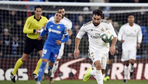 Dani Carvajal puede estar fuera de las canchas durante dos meses. (Foto: AFP)