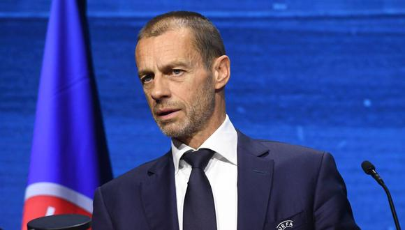 Aleksander Ceferin admitió que le gusta la idea de una 'final four' en Champions League. (Foto: EFE)