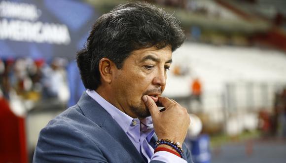 Víctor Rivera indignado luego de conocer el fallo de la Comisión de Justicia de la Federación Peruana de Fútbol | Foto: GEC