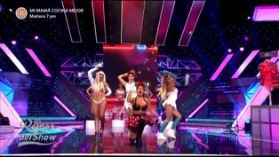 "Reinas del show 2: Minnie Mouse, Pitufina, Tormenta y Vilma Picapiedra se mueven al ritmo de ""In Da Getto"""
