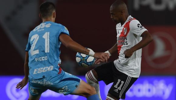 River Plate vs. Arsenal se enfrentan en partido por la Copa Diego Maradona. (Foto: @RiverPlate)