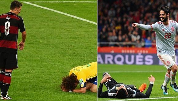 Rusia 2018: del Alemania 7-1 Brasil al España 6-1 Argentina