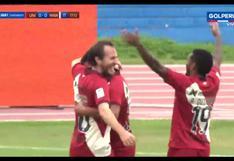 Hernán Novick anotó el 1-0 para Universitario vs. Mannucci por Liga 1   VIDEO