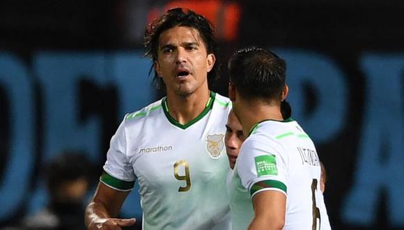 Marcelo Moreno Martins es en goleador de las Eliminatorias, con 8 anotaciones. (Foto: AFP)
