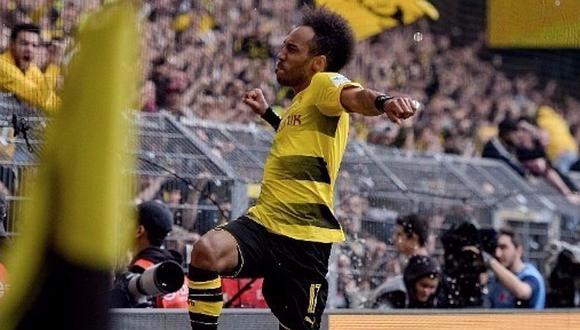 Borussia Dortmund vence al Milan en China con dos tantos de Aubameyang